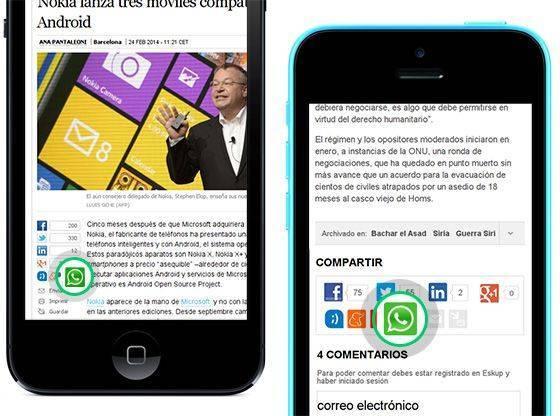 Whatsapp en empresas de comunicación