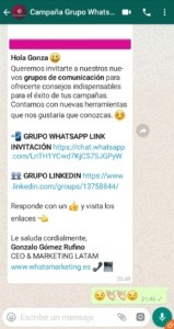 Whatsapp Marketing Grupo