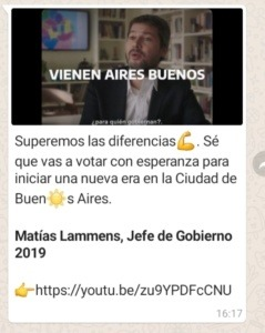Campañas Políticas WhatsApp Marketing