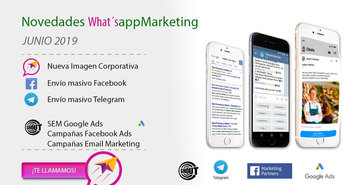 Whatsapp Marketing Mensajes masivos