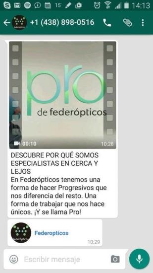 Federópticos, España