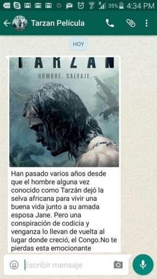 Tarzán, La película